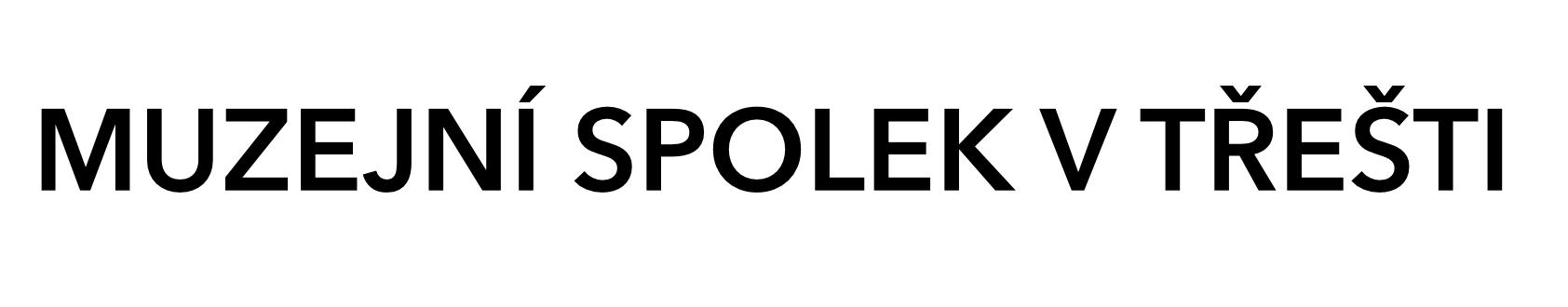logo muzejní spolek v třešti facebook bílá