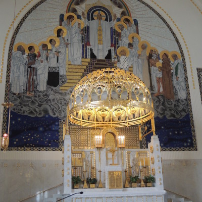 oltář sv. Leopolda