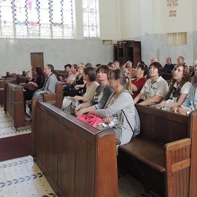 v kostele na Steinhofu