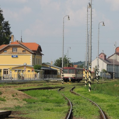 01 nádraží Telč