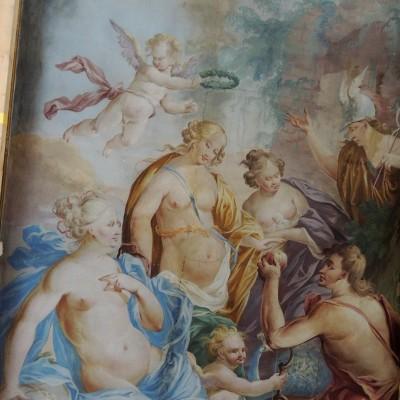 18 - freska na stropě