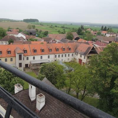 19 - pohled z věže k Hájku