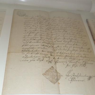 nejstarší dopis