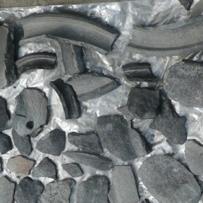 drobné nálezy kamenná industrie
