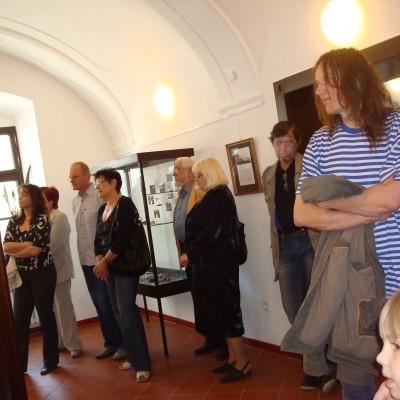 hosté na výstavě