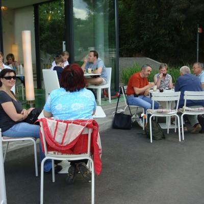odpočinek ve Stadtparku