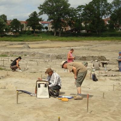 pracovití archeologové