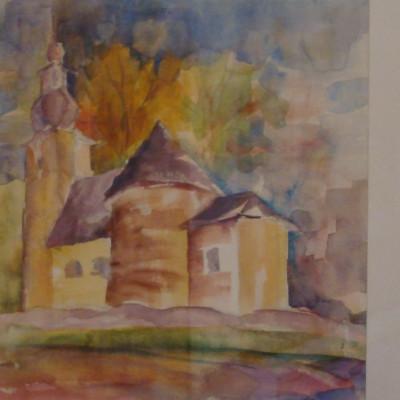 stonařov v akvarelu výřez