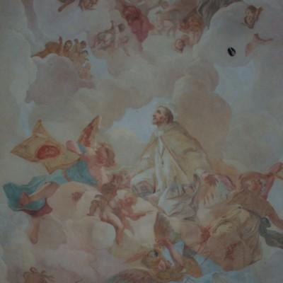 strop planderské kaple
