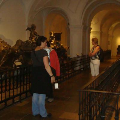 v habsburské hrobce