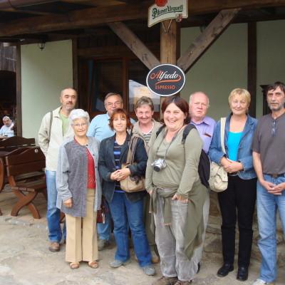muzejníci v Lukách