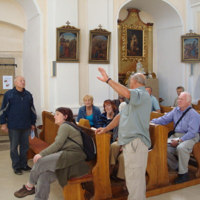přednáška pana kostelníka