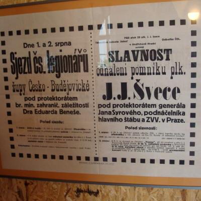 legionářský plakát