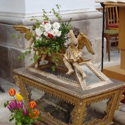 ostatky sv. iguriáše