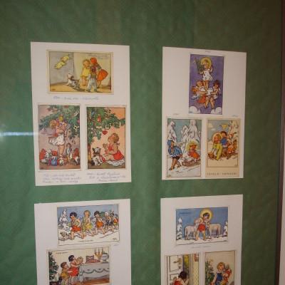 pohlednice malířky Kvěchové
