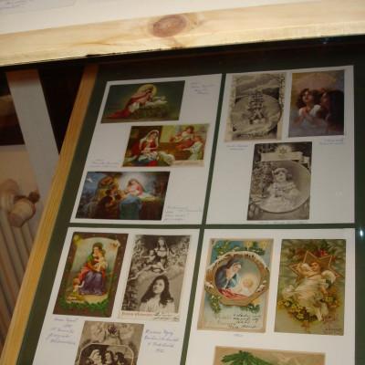 sbírky vánočních pohlednic