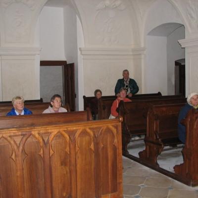02 - zámecká kaple v Uherčicích