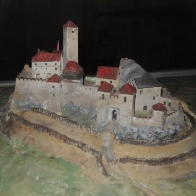 09 - model hradu Orlík