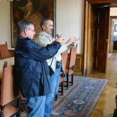 dva fotografové v Terezianu