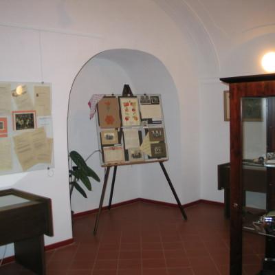 exponáty o rodině Richterových