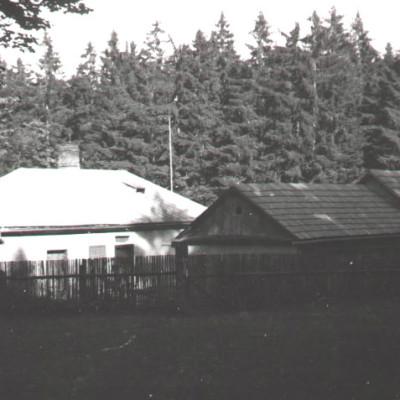 hájovna v Klučí v 50. letech 20.stol.