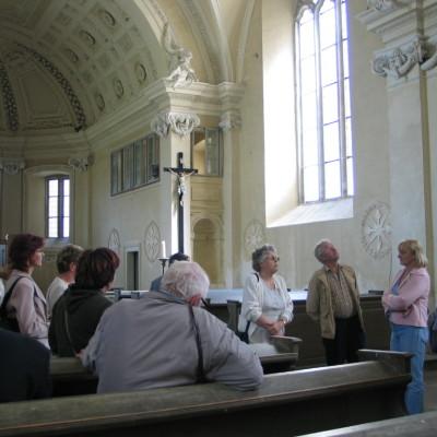 klášterní kostel v Brtnici