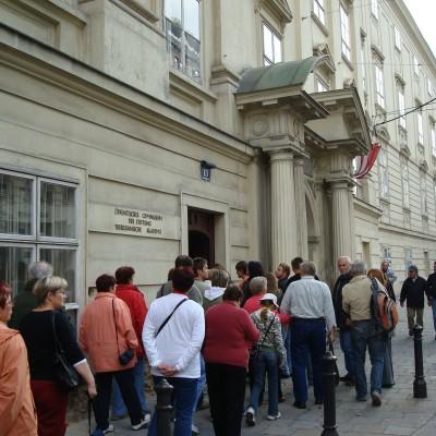 muzejníci jdou do Tereziana