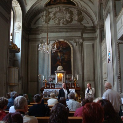 v kapli Tereziana