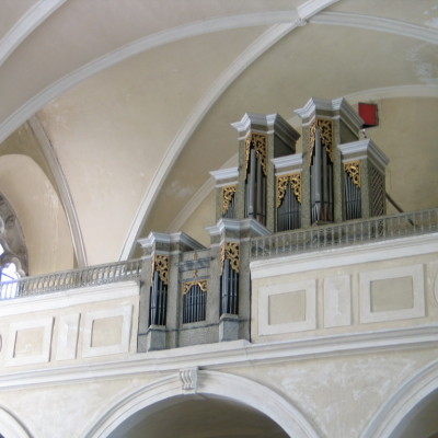 varhany klášterního kostela