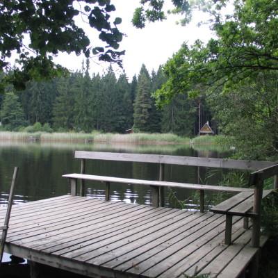 08 molo u rybníka