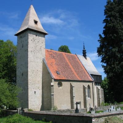 Lidéřovice - kostel