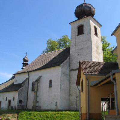 kostel v českém rudolci