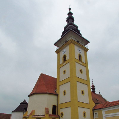 01 - M. Budějovice - kostel