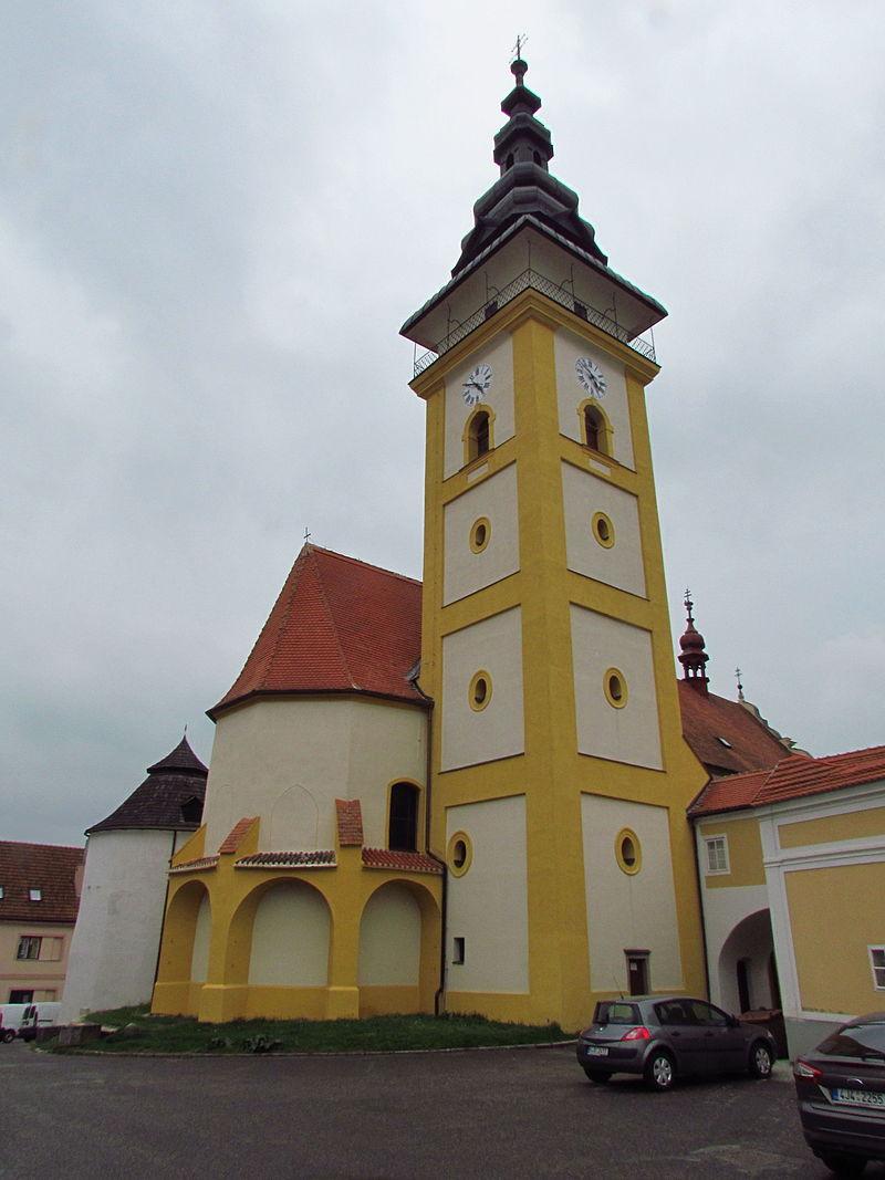 Moravské Budějovice - kostel