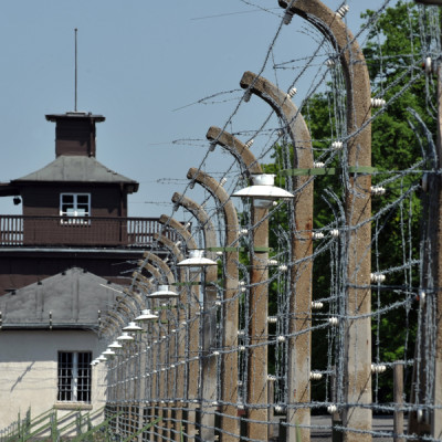09 - oplocení tábora Buchenwald