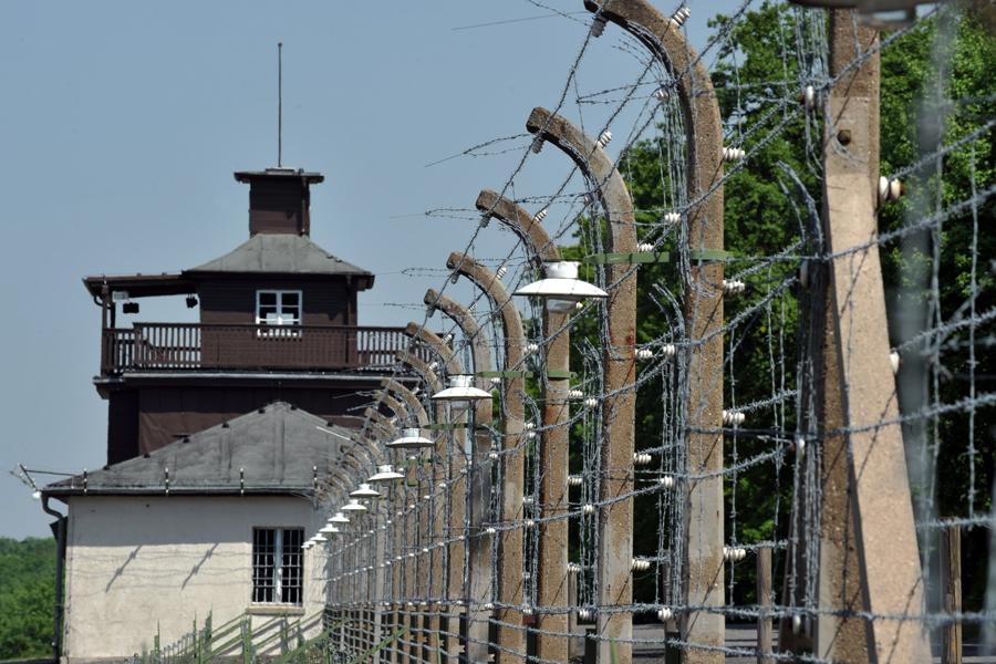Oplocení tábora Buchenwald
