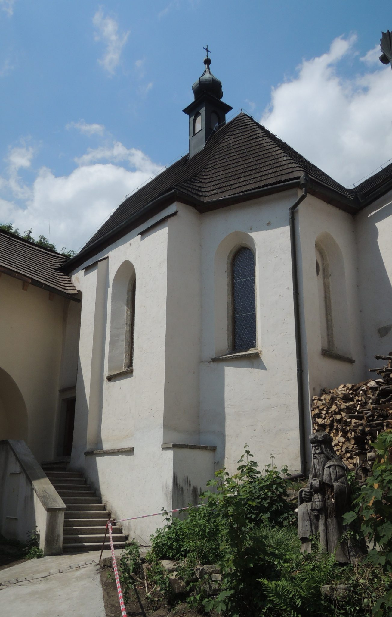 Opravená kaple sv. Eustacha