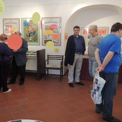 Prohlídka výstavy