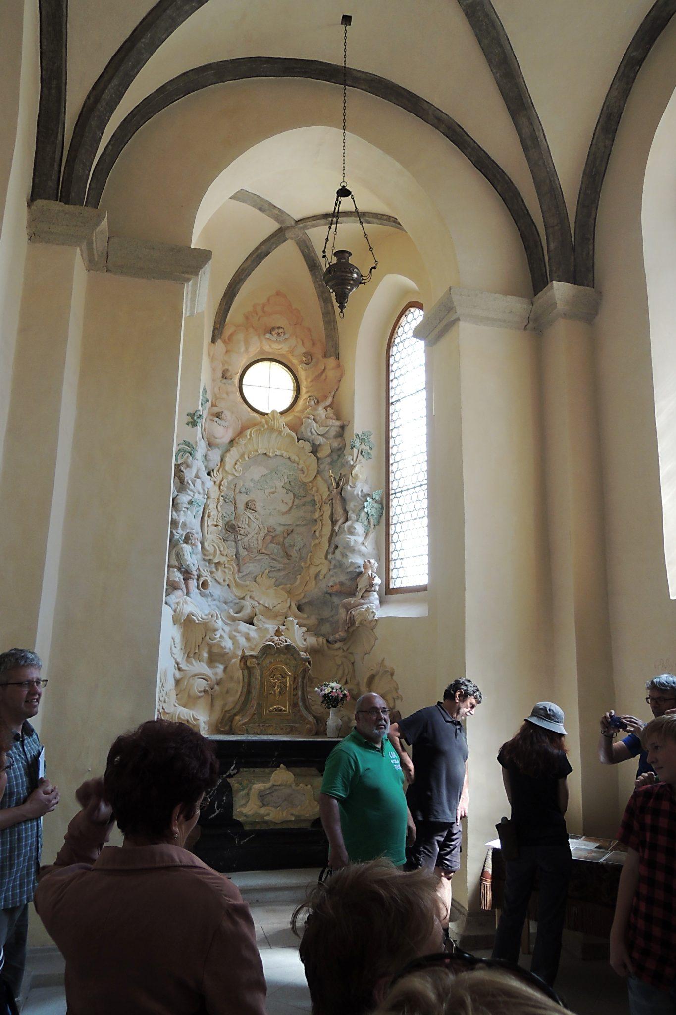 Opravená kaple