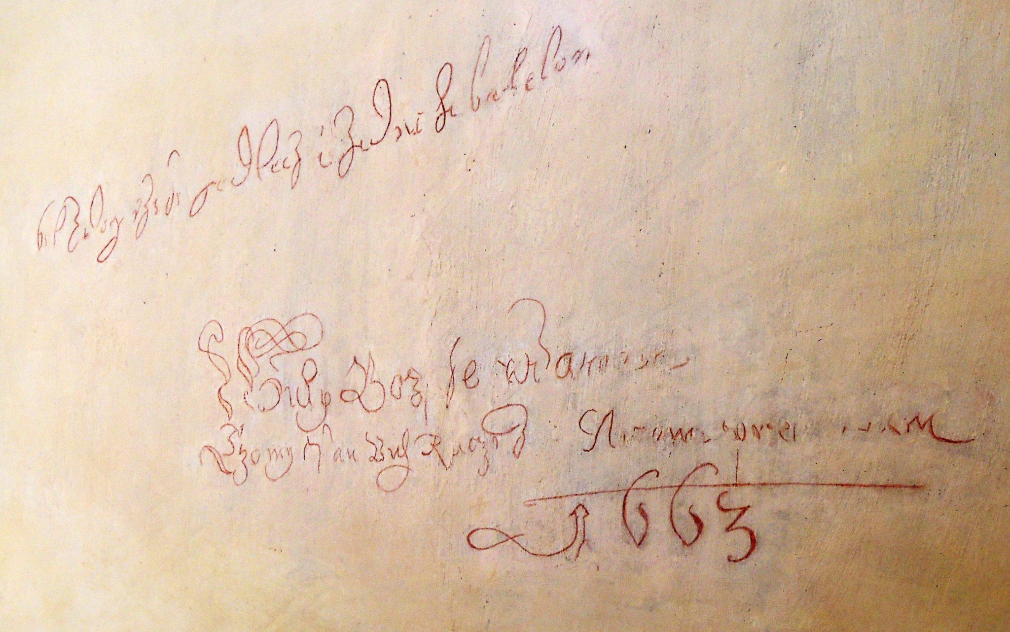 Barokní graffiti