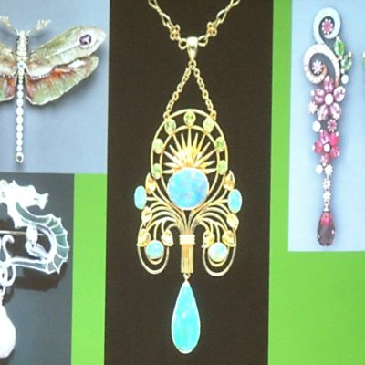 09 - secesní šperky
