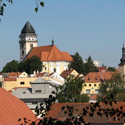 Dačice - kostel