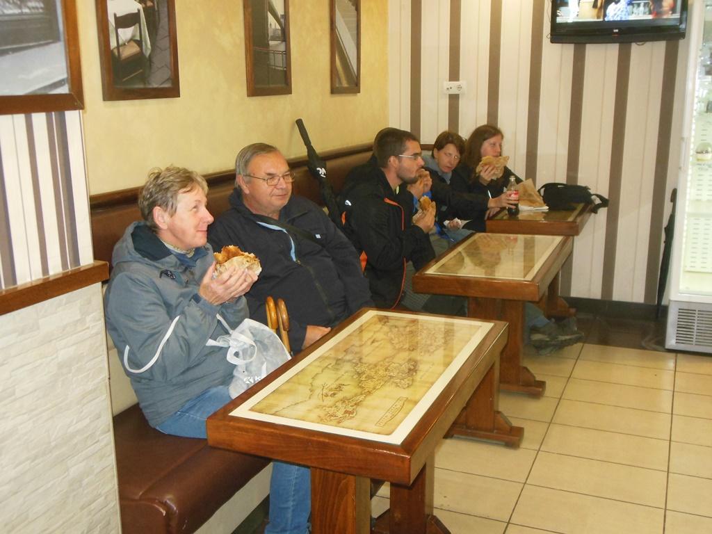 Muzejníci v pekárně