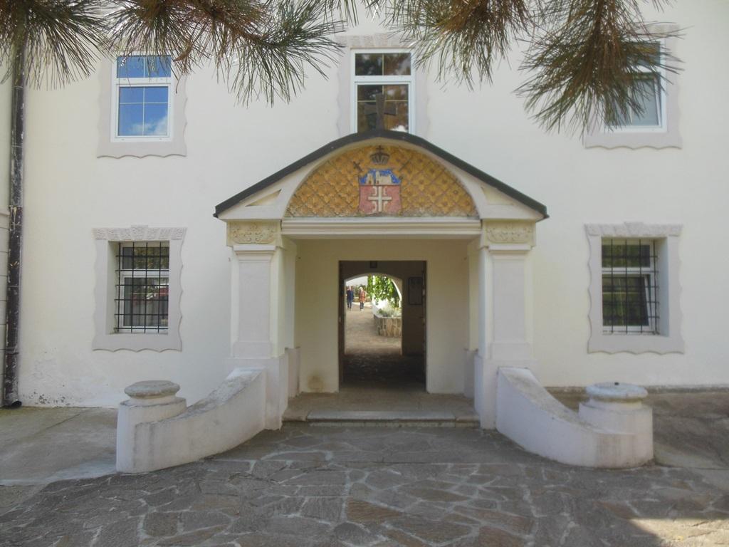 Vstup do kláštera