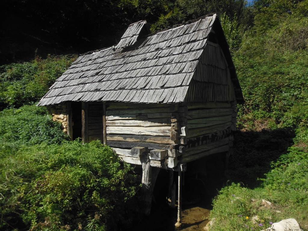 Vodenice - vodní mlýnek