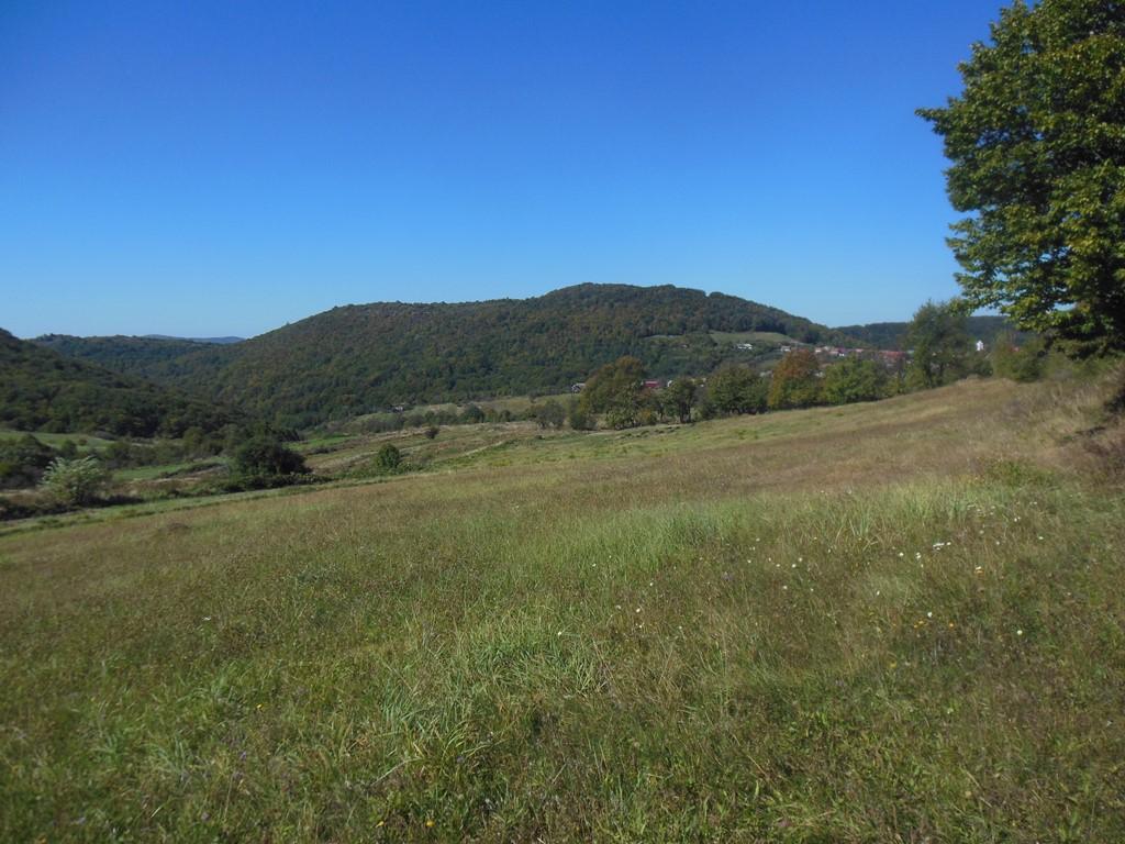 Údolí s vesnicí