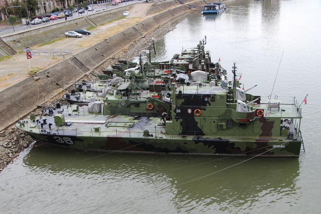 Flotila na Dunaji