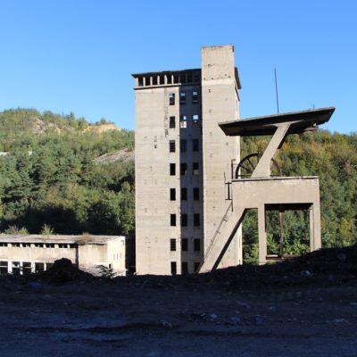Opuštěné doly u Nové Moldavy