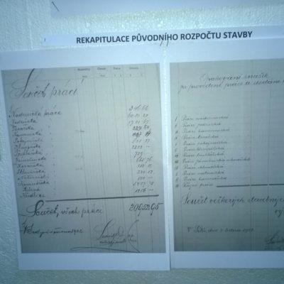 Rozpočet na stavbu školy