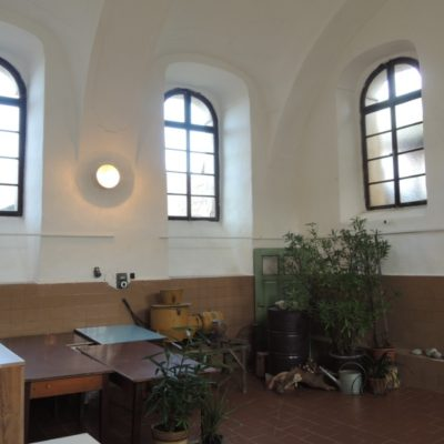 Vnitřek synagogy